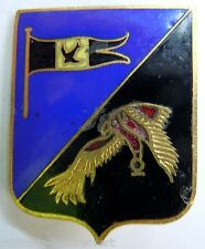Insigne Armée de l'Air GROUPE CHASSE 1/4 NAVARRE Indochine Augis émail ORIGINAL