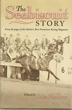 SEABISCUIT BOOK - THE STORY OF SEABISCUIT, PHOTOS & CHARTS ETC., MINT