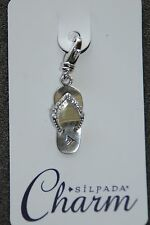 SILPADA Sterling Silver Charm Collection - Glam Sandal - C2579 - NIB!