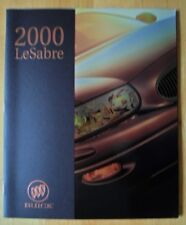 BUICK LeSabre orig 2000 USA Market prestige 40p brochure