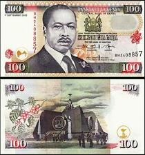 Kenya 100 Shillings, 2002, UNC, P-37