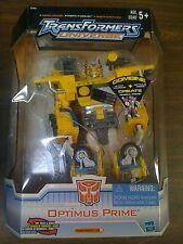 Transformers Universe Optimus Prime SAM's EX Yellow RARE  NEW FREE SHIP US