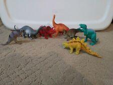 Lot Of 7 Vintage Unbranded Jurassic Dinosaurs Oviraptor Brachiosaurus + More