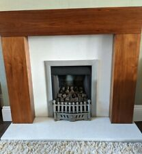 Wooden fire surround used