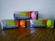(3270) Diamond Tc golf balls - Intech Sponsor of Breadt Cancer Research