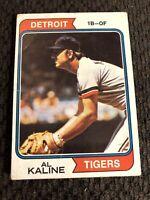 1974 Topps Al Kaline #215 Detroit Tigers Baseball Card