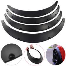 "4Pcs 3.5""/90mm Universal Flexible Car Fender Flares Body Wheel Arches Mudguards"