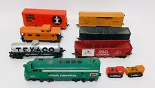 Vintage Tyko Penn Central Engine 6 Cars & 2 Traveling Tyco Tactors