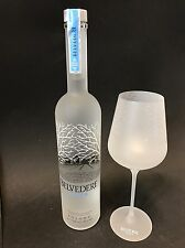 Belvedere Vodka Set 0,7l Flasche + 1 Belvedere Signature Glas 40%Vol. NEU OVP