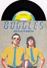 "BUGGLES VIDEO KILLED THE RADIO STAR 1979 RECORD YUGOSLAVIA 7"" PS SINGLE"