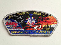 LOS ANGELES AREA COUNCIL SCOUT PATCH NATIONAL JAMBOREE 1997 SMY BORDER