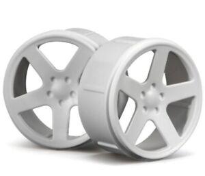 HPI Racing 73410 Wheel Set White Micro RS4 (4)