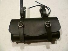 LARGE, retro style leather bicycle tool, saddle/Top tube bag, Australia made.
