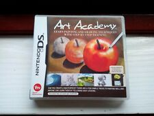 Art Academy - NINTENDO DS 3DS PAL - Drawing Painting Educational - A