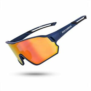 ROCKBROS Polarized Sunglasses for Men Women UV Protection Cycling Sunglasses
