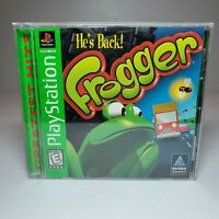 Frogger He's Back! Sony Playstation 1 Game - Complete Tested WorkingPS1 PS2