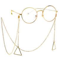 Triangle Eye Glasses Sunglasses Spectacles Eyewear Chain Holder Cord Lanyard DIY