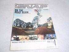 VINTAGE ORIGINAL BMX SNAP MAGAZINE FEBRUARY 2001 VOL.8 ISSUE 2 NO. 52