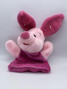 Winnie the Pooh Hand Puppet Piglet Plush Disney Mattel New w/o Tags
