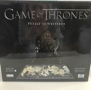 Game of Thrones Westeros Puzzle 4D Cityscape SEALED