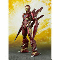 Avengers Infinity War SHF KO S.H.Figuarts Iron Man MK50 Nano Weapon Set Boxed