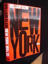 William Klein New York 1954 1955 HC DJ English Dewi Lewis ED Photographs