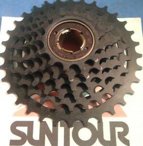 NOS Vintage SunTour I-13T Cog 7-Spd AccuShift Plus AP Freewheel NEW