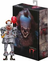 Stephen King IT Action Figure Pennywise I HEART DERRY Bill Skarsgård Movie NECA