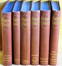 Gottfried Keller - Werke Ausgabe in 6 Bänden - Reclam Verlag, 1922 - Fraktur