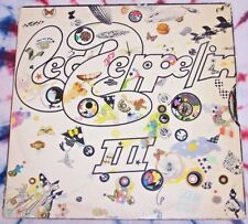 LED ZEPPELIN Led Zeppelin III ATLANTIC RECORDS 1970 Record Club issue VG+ WHEEL