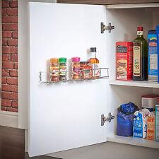 Tarro de rack de 1 pisos de salsa de especias/Botella De Almacenamiento Estante Para Armario De Cocina Puerta