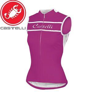 Castelli Promessa Sleeveless Women's Cycling Jersey - Purple