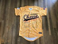 Frederick Keys Team Issued Authentic Frederick Cheese Jersey MILB