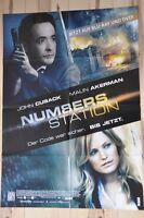 Filmposter Filmplakat DIN A1 59 x 84 cm - Numbers Station - John Cusack - Neu