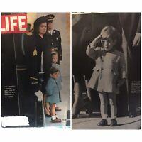 LIFE MAGAZINE :MRS.KENNEDY &JOHN JR.(DEC.6,1963)+FREE SHIPPING🔥