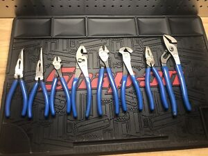 8 pc Pliers/ Cutters Set mixed set (Blue-Point®) barely used