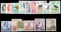 Australia #365-79 1963-65 EXPLORER'S SET MNH CV$250.80
