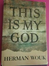 THIS IS MY GOD by Herman Wouk  Jewish Religion  1959