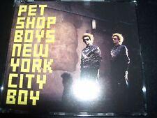 Pet Shop Boys New York City Boy UK CD Single