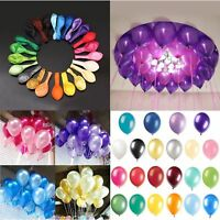 10 PCS Birthday Wedding Baby Shower Party Pearl Latex Balloons 12""