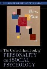The Oxford Handbook of Personality and Social Psychology (Oxford Library of Psyc