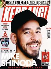 KERRANG! magazine Dec 1 2018 #1750 Mike Shinoda Greta Van Fleet Alice In Chains