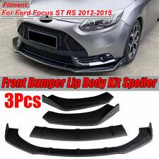 Front Bumper Lip Spoiler Splitters For Ford Mustang Focus RS ST Fiesta Mondeo