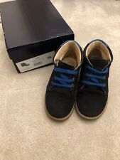 Boys TNY by Tinny Shoes Navy Desert Boots Size 26 With Box