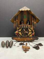 Vintage West Germany Coo Coo Clock ~ German Dancers ~ Chalet ~ Musical