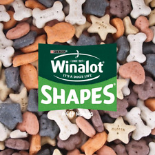 Winalot Shapes Purina Dog Biscuits Food Feed Charcoal Biscuits Treats Reward Pet