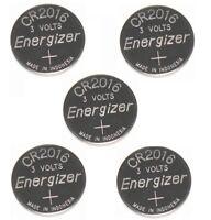 5 BULK ENERGIZER CR2016 cr 2016 ECR2016 3v Lithium Battery EXPIRE 2026