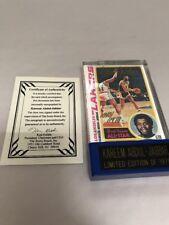 1978-79 Topps Score Board Kareem Abdul-Jabbar Lakers Signed Autograph Card QVC