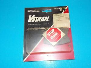 NOS VESRAH BRAKE PADS VD 428NRQ FITS KAWASAKI 1987-1993 KL650/250 KLR250/650