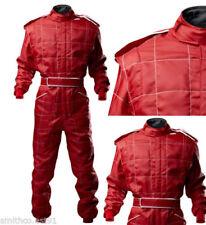 Vestimenta sin marca color principal rojo para karting y racing